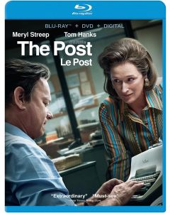The Post (Bilingual) [Blu-ray + DVD + Digital Copy]