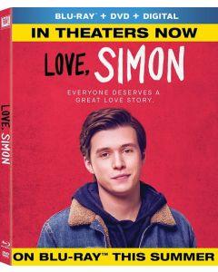 Love, Simon [Blu-ray] (Bilingual)