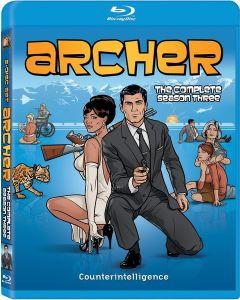 Archer: The Complete Season Three [Blu-ray]