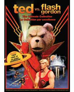 Ted vs. Flash Gordon: The Ultimate Collection (Ted / Ted 2 / Flash Gordon) - DVD