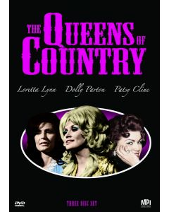 QUEENS OF COUNTRY (DVD/3 DISC/DOLLY P/LORETTA L/PATSY C)