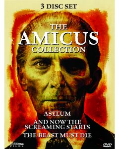 AMICUS COLLECTION (DVD/3 DISC/ASYLUM/BEAST MUST DIE/NOW THE SCREAMING S)