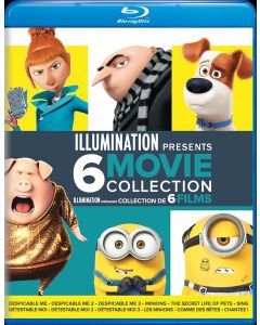 Illumination Presents: Despicable Me / Despicable Me 2 / Despicable Me 3 / Minions / The Secret Life of Pets / Sing