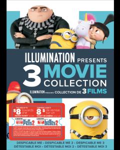 Illumination Presents: 3-Movie Collection w/ Movie Cash