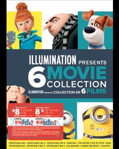 Illumination Presents: 6-Movie Collection w/ Movie Cash