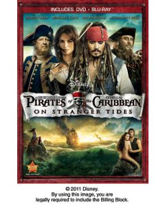 PIRATES OF THE CARIBBEAN / ON STRANGER TIDES (W/S)(DVD/BD)- (A/F)