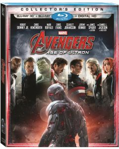 MARVEL'S AVENGERS / AGE OF ULTRON  (3D BD/BD/DVD) (DHD)- (A/F)