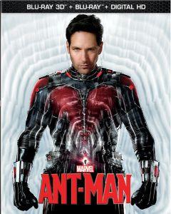 ANT-MAN  (3D BD/BD) (DHD) - (A/F)