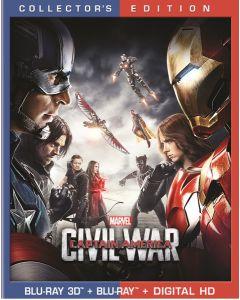 CAPTAIN AMERICA/CIVIL WAR  (3D BD/BD/DHD)- (A/F)