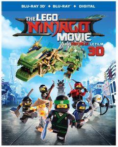 THE LEGO NINJAGO MOVIE / LEGO NINJAGO: LE FILM (BILINGUAL)3DBD + BD + UV DIGITAL COPY
