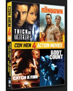 Con Men - Action 4 Pack