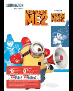Despicable Me 2 w/ Movie Cash