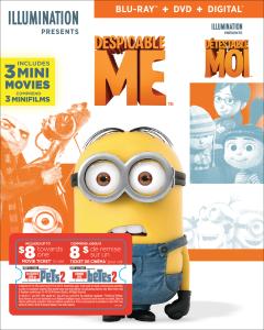 Despicable Me w/ Movie Cash