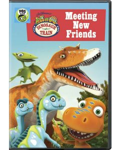 Dinosaur Train: Meeting New Friends - DVD