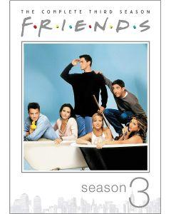 Friends: The Complete Third Season (DVD) - RPKG 25th