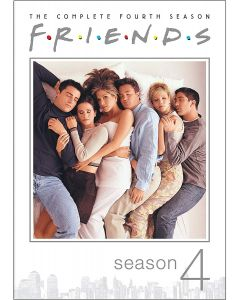 Friends: The Complete Fourth Season (DVD) - RPKG 25th