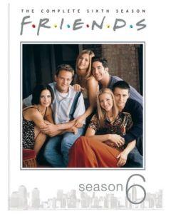 Friends: The Complete Sixth Season (DVD) - RPKG 25th