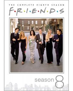 Friends: The Complete Eighth Season (DVD) - RPKG 25th
