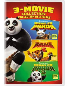 Kung Fu Panda: 3-Movie Collection - DVD