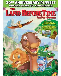 Land Before Time: 30th Anniversary Playset (5-Movie Collection)