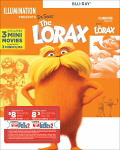 Dr. Seuss' The Lorax w/ Movie Cash