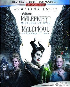 MALEFICENT/MISTRESS OF EVIL  (BD/DVD/DGC)
