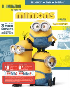 Minions w/ Movie Cash