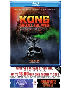 Kong: Skull Island w/ Movie Cash (BD)