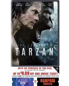 Legend of Tarzan w/ Movie Cash (DVD)