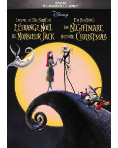 NIGHTMARE BEFORE CHRISTMAS THE (25TH ANN ED) (VF)  (DVD)  - (F/A)