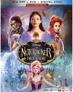 NUTCRACKER & THE FOUR REALMS  (BD/DVD/DGC)  - (A/F)