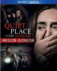Quiet Place / Quiet Place Part II (2 Movie Collection)