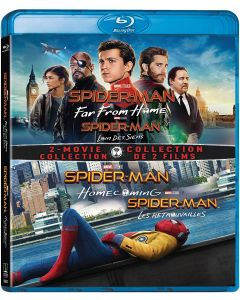 Spider-Man: Far from Home / Spider-Man: Homecoming - (2 Disc) Bilingual Set BD + Digital