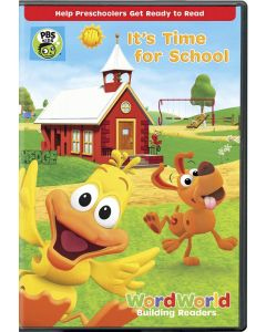 WordWorld: Its Time For School - DVD