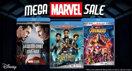 Mega Marvel Sale