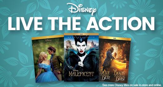 Disney Live Action Sale