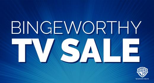 Bingeworthy TV Sale