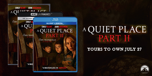 A Quiet Place: Part II available to pre-order on 4K, Blu-ray, and DVD now!