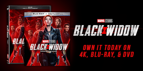 Black Widow available to pre-order on 4K, Blu-ray, and DVD now!