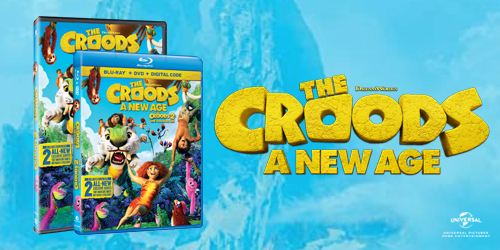 Own The Croods: A New Age on Blu-ray, DVD, & Digital today