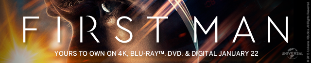 First Man available January 22