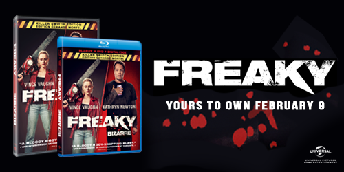 Pre-order Freaky today