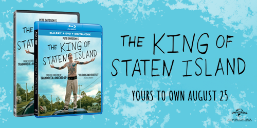 Own The King of Staten Island available on DVD August 25