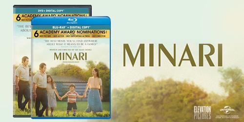 Own the award-winning Minari on Blu-ray & DVD May 18
