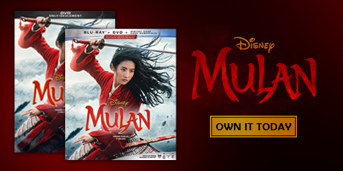 Own the latest Mulan on 4K, Blu-ray, and DVD today!