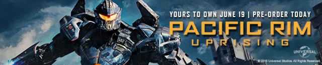 Pre-order Pacific Rim Uprising today. Available June 19th!