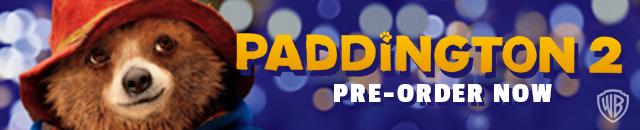 Paddington 2 pre-order DVD