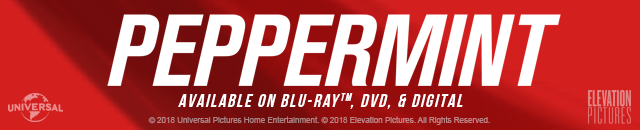 Peppermint available on Blu-ray, DVD and Digital