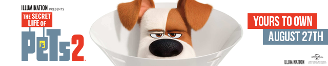 The Secret Life of Pets 2 available August 27