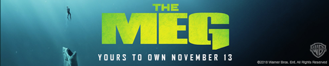 The Meg yours to own November 13